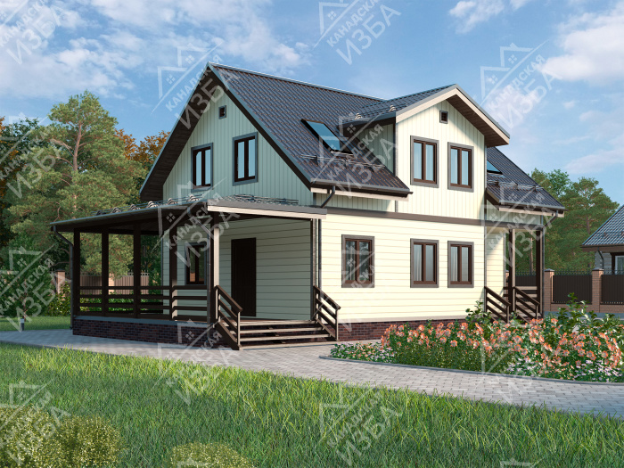Особенности строительства деревянных домов из бруса